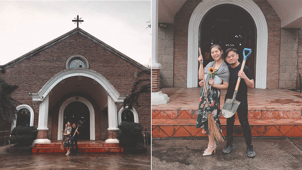 This Couple Had to Let Go of Their Dream Wedding Due to the Taal Volcano Eruption