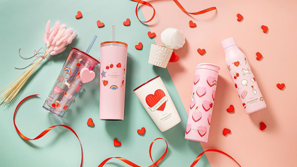 You'll Fall In Love With Starbucks' Sweet Valentine's Collection