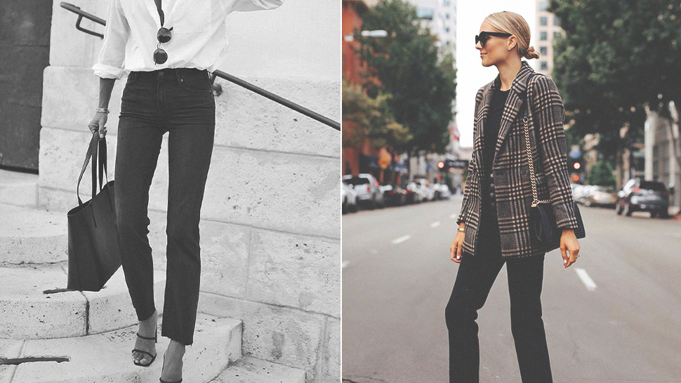 5 Chic Ways to Wear Black Skinny Jeans to Work