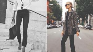 5 Chic Ways To Wear Black Skinny Jeans To Work