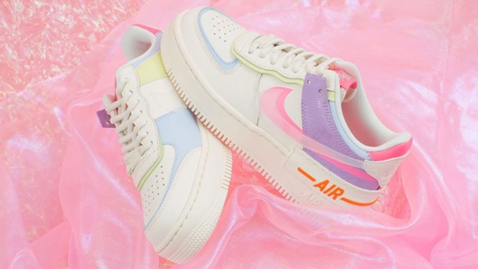 Nike Air Force 1 Sneakers Just Got A Pastel Update And We Want One