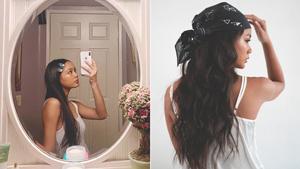 8 Adorable Ways To Style Long Hair, According To Ylona Garcia