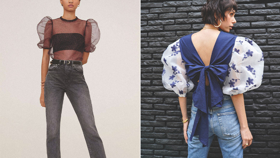 15 Puff Sleeve Tops That Will Instantly Add Extra Drama to Your OOTD