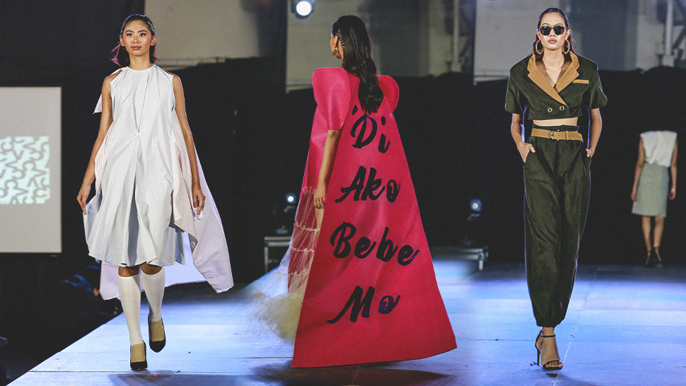 These Designers From Up Clothing Technology Made Strong Statements At The 2020 Grad Show