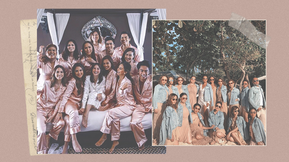 Matching Outfits You Can Wear With Your Bridesmaids (other Than Robes)