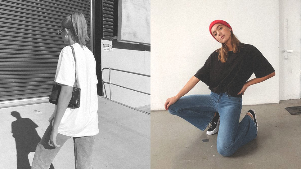 12 Chic Ways To Style An Oversized Shirt
