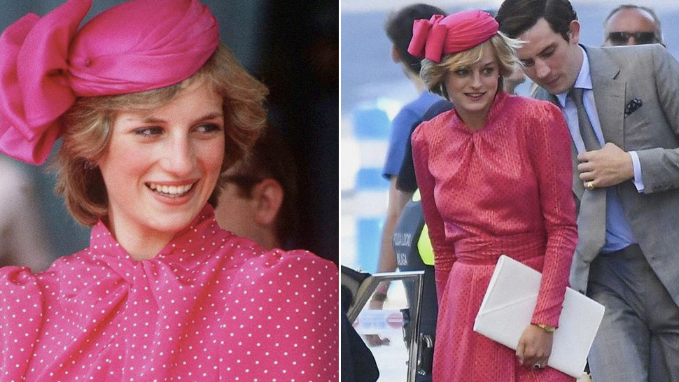 "Here's Your First Look at Princess Diana in ""The Crown"" Season 4"