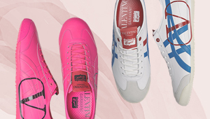 Onitsuka X Valentino Is The Unlikely Collab That We Just Can't Wait For