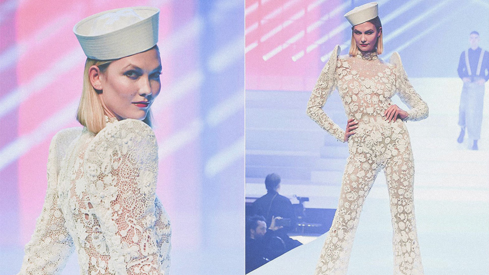 Did Karlie Kloss Wear a Terno at Jean Paul Gaultier's Finale Show?
