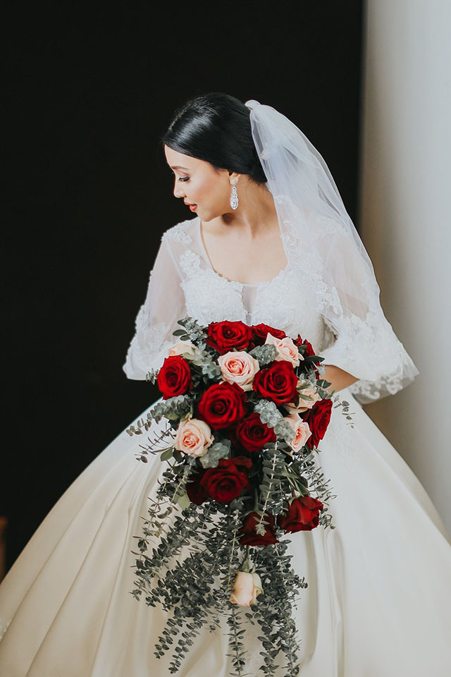 Filipina Bride Bought Her Wedding Dress From Lazada