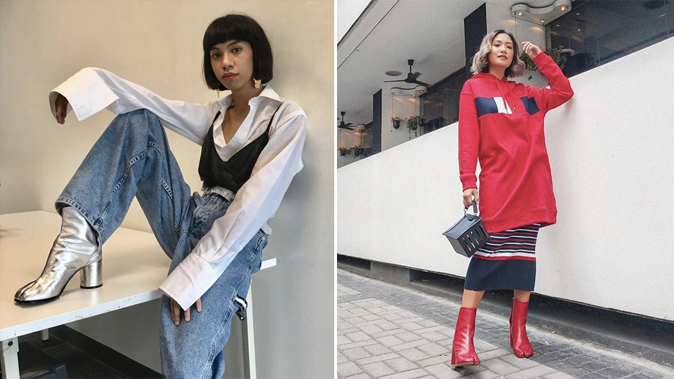 These Are The Exact Designer Boots Laureen Uy And Mimiyuuuh Both Love