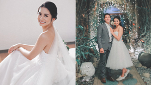 Volleyball Star Denden Lazaro Wore Sneakers To Her Wedding And We're All For It