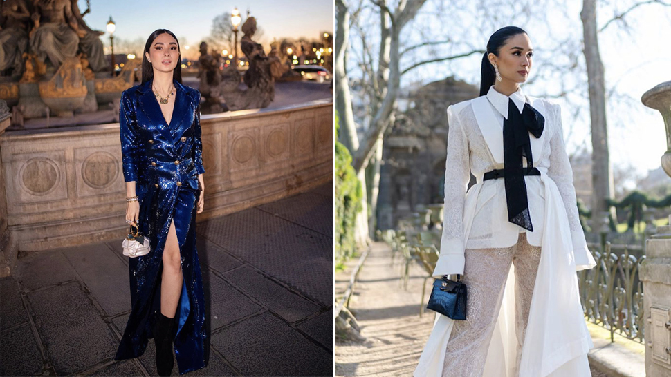 All The Looks Heart Evangelista Wore To Paris Haute Couture Week