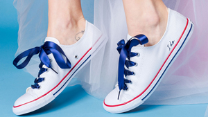 Converse Now Offers Personalized Wedding Sneakers For Practical Brides