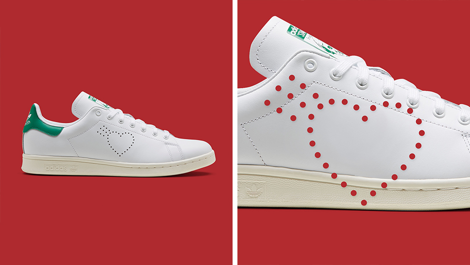 You'll Fall in Love with These Valentine's-Themed Adidas Stan Smiths