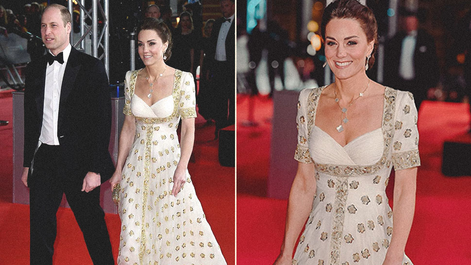 Kate Middleton Makes a Case for Outfit-Repeating at This Year's BAFTA Awards