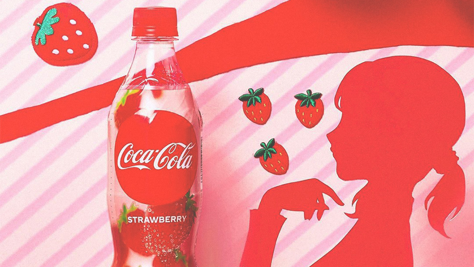 OMG, There's a New Coca-Cola Strawberry in Japan!
