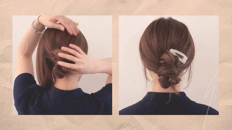 This Low Bun Is a Chic, Easy Bridal Hairstyle You Can Do Yourself