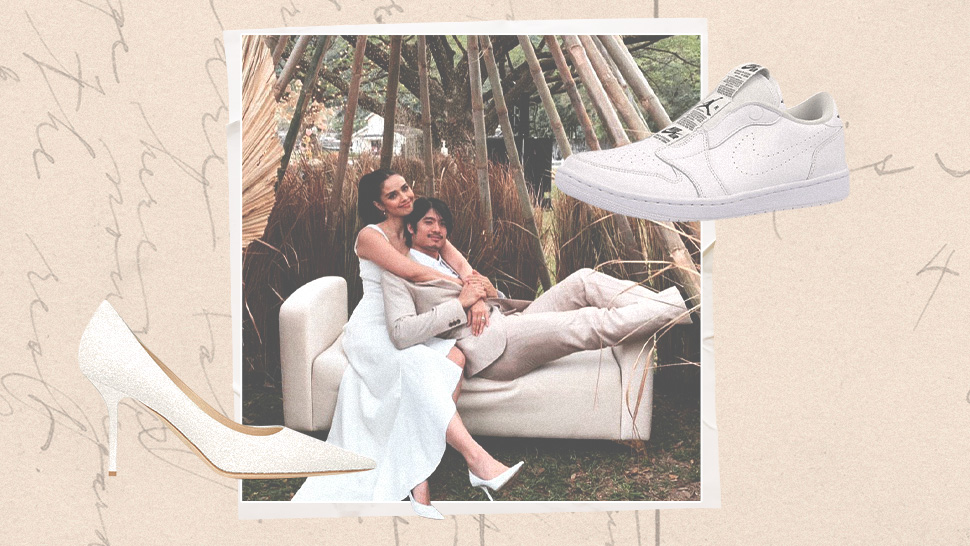 The Exact Pairs Of White Shoes Megan Young Wore To Her Wedding