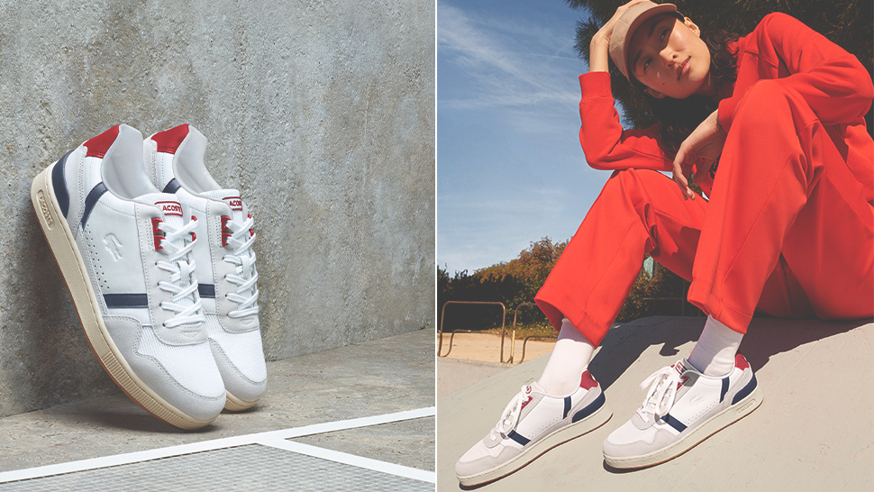 Lacoste Just Dropped '80s-Inspired Sneakers That Are Perfect for All Your OOTDs