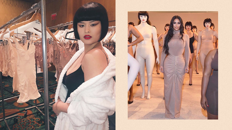 "Mariel De Leon Modeled For Kim Kardashian's Fashion Label ""skims"" In Nyfw"
