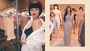 Mariel De Leon Modeled For Kim Kardashian's Fashion Label