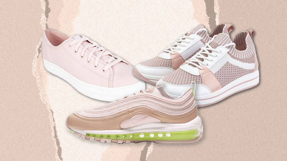 10 Adorable Pink Sneakers Perfect For Your Valentine's Day Ootd