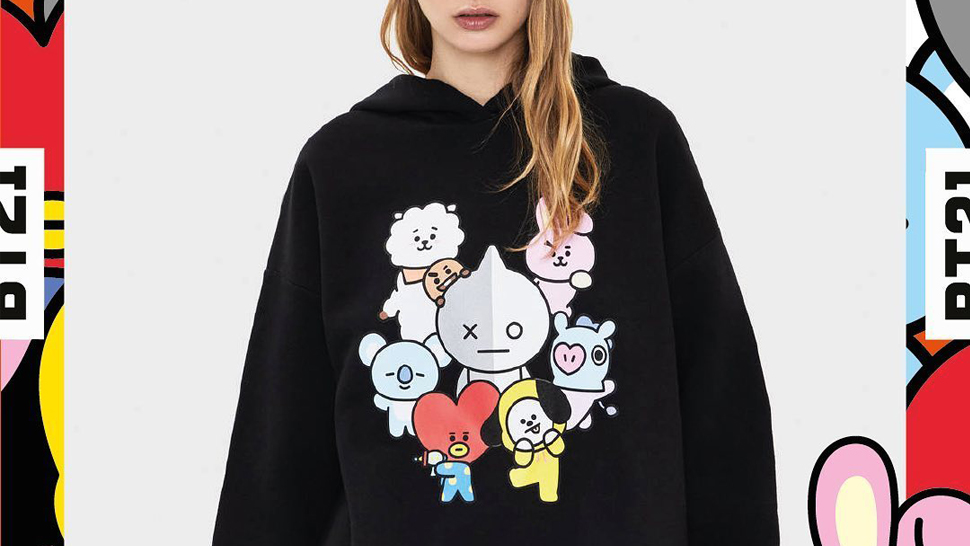 If You're a BTS Fan, You'll Love Bershka's BT21 Fashion Merch