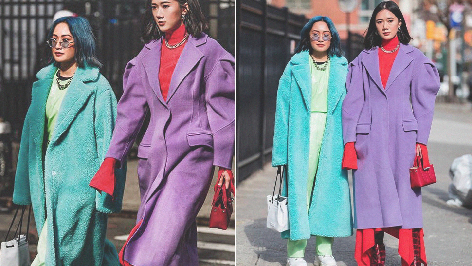 Camille Co And Laureen Uy's Color-coordinated Looks Turned Heads At Nyfw