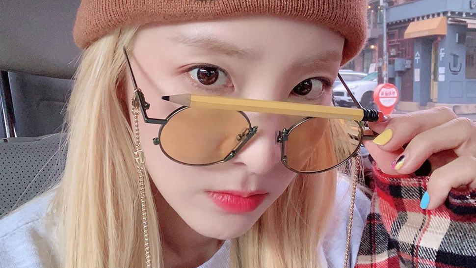 Would You Buy Sandara Park's Cool Pencil Sunglasses For P15,000?