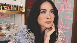 This Is The Exact Nude Pink Lipstick Heart Evangelista Wore