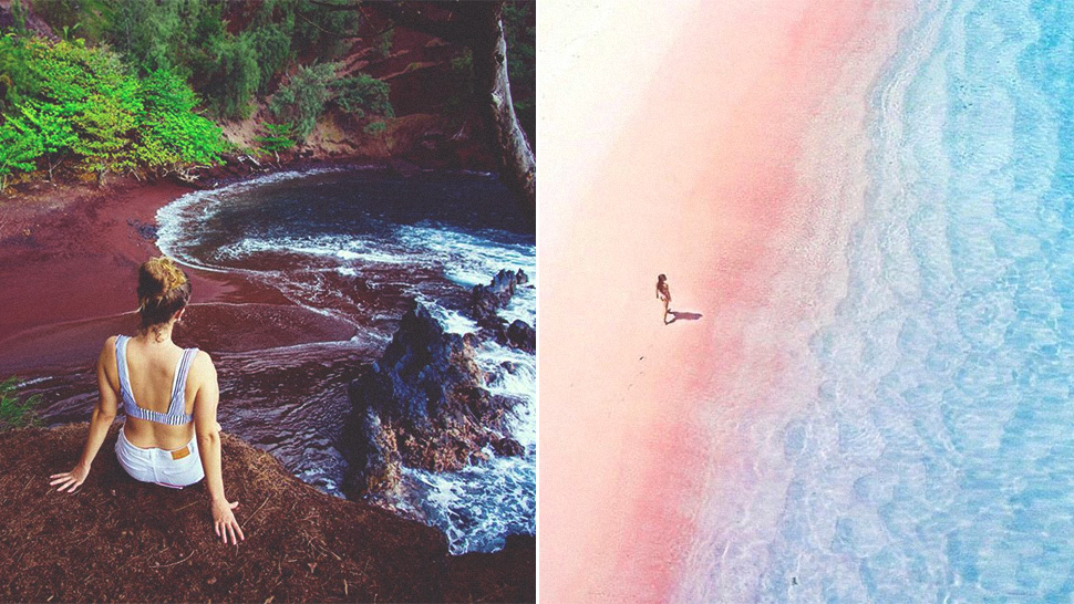 7 Of The World's Uniquely Colored Beaches That You Need To See In This Lifetime