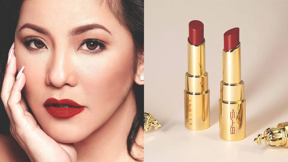 Regine Velasquez Will Be Releasing a Red Lipstick Collection with BYS