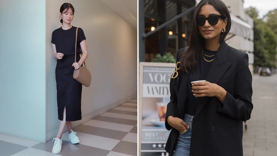5 Cute Ways You Can Style Your Black T-shirt For The Office