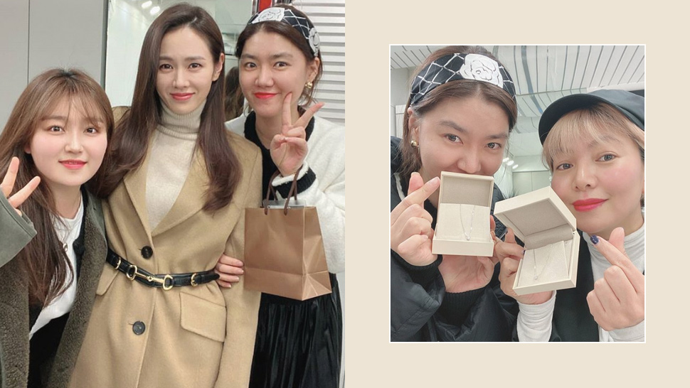 Son Ye-jin Gifted Her Glam Team With Jewelry After
