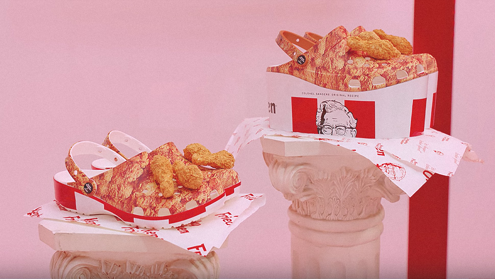 Would You Buy These Kfc Chicken-scented Crocs For P3000?