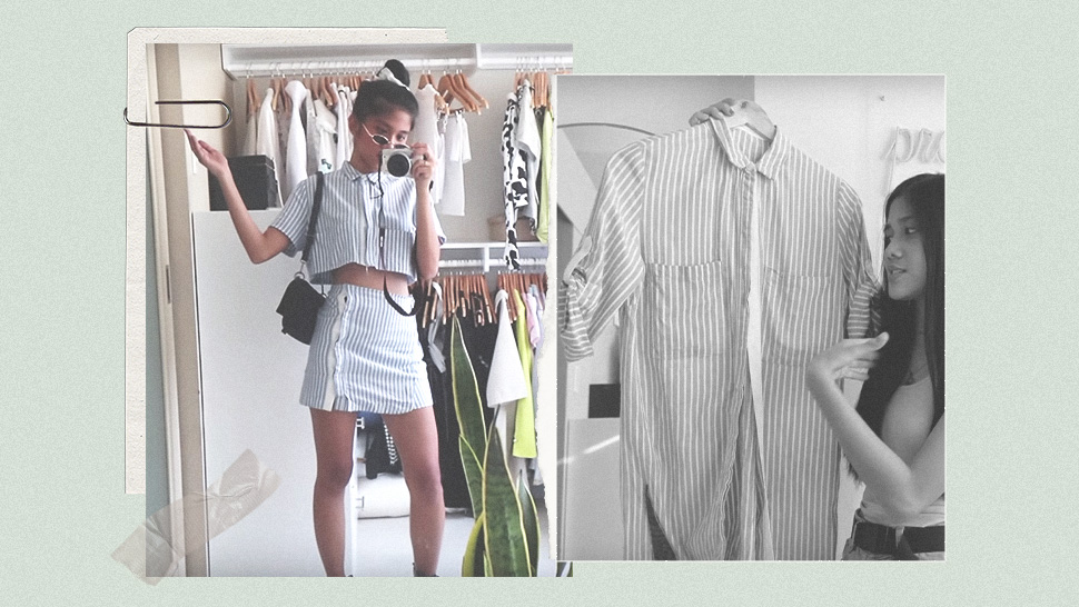 You Have To See This YouTuber Transform Her Ukay-Ukay Finds Into New Outfits