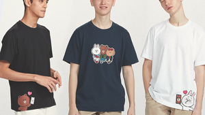 These Line Friends Tees From Uniqlo Are Too Cute