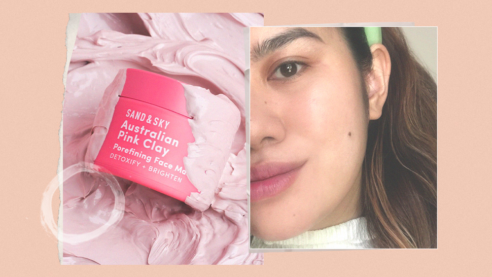 I Tried This Instagram-Famous Pink Clay Mask and It Made My Pores Look Smaller
