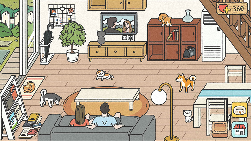 This Mobile Game About Staying Home and Feeding Your Cat Is Everyone's Latest Obsession