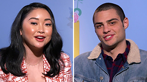 Lana Condor And Noah Centineo Talk About Filming