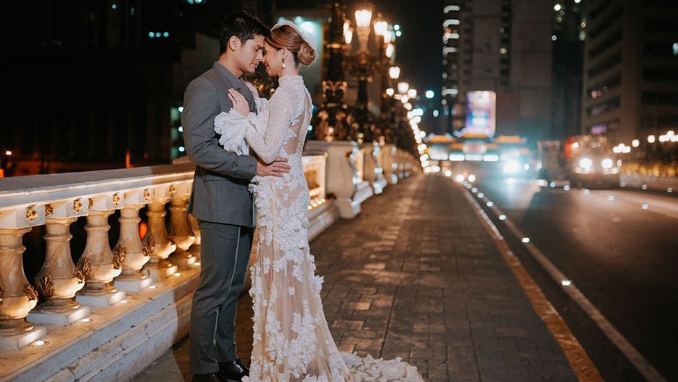 You'll Fall in Love with JC de Vera and Rikkah Cruz's Old Manila Prenup Shoot