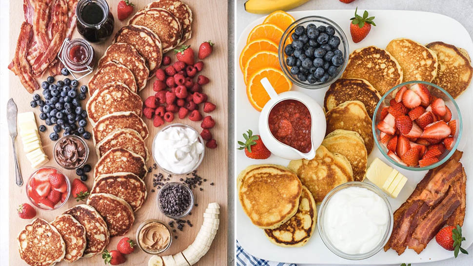 Pancake Grazing Boards Are The Latest Instagrammable Food Trend Of 2020