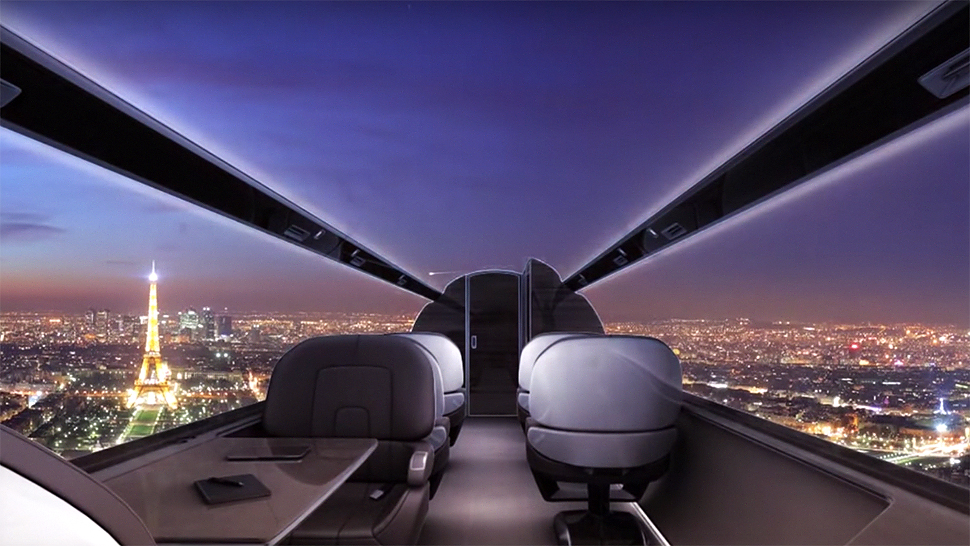 Would You Fly on a Windowless Airplane?