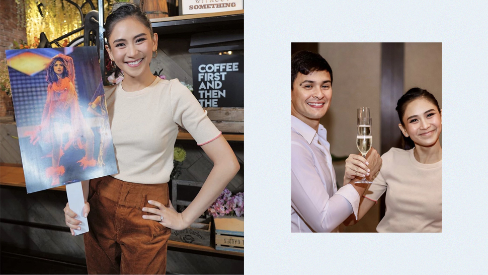 We Love How Sarah Geronimo Is Wearing a T-Shirt in Their First Wedding Photo