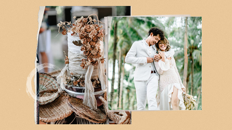 You Have to See This Couple's DIY Eco-Friendly Wedding