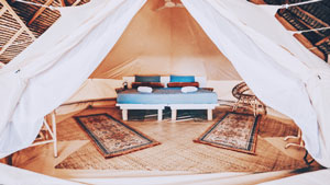Siargao's Newest Glamping Resort Features A Breathtaking Ocean View