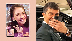 Mr. And Mrs. Guidicelli Make It Official By Flaunting Their Wedding Rings