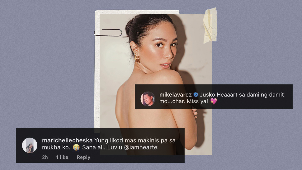 The Funniest Reactions to Heart Evangelista's Daring Instagram Photo