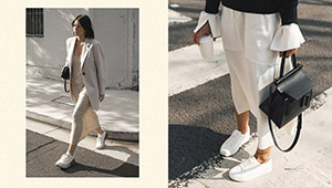 8 Non-boring Outfits That You Can Wear With Your Favorite White Sneakers
